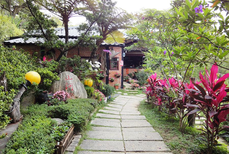 山河恋咖啡馆景观